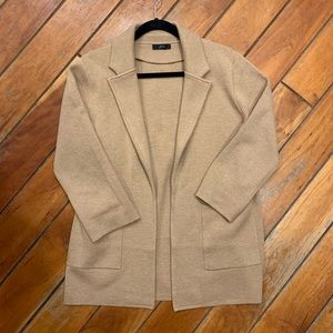 J. Crew Jackets & Coats - J. Crew Sophie Open Front Blazer, Heathered Khaki
